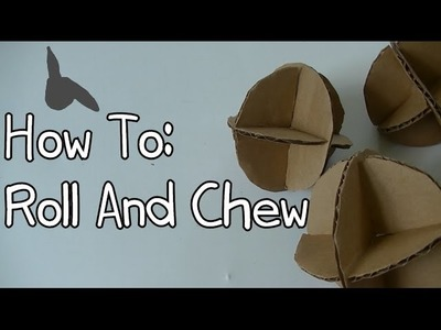 How To Make Homemade Rabbit Toy-The Roll And Chew