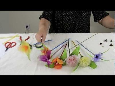 How to Make Nylon Flower Pen