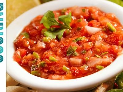 How To Make Salsa - Blender Salsa Recipe