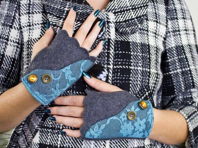 How To Sew Fingerless Gloves