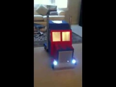 Http:.ElectricATM.com The Best Halloween Ever - Transformer optimus prime costume