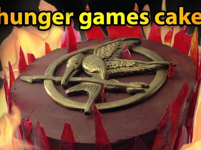 Hunger Games Cake Tutorial Mockingjay Cake HOW TO COOK THAT Ann Reardon