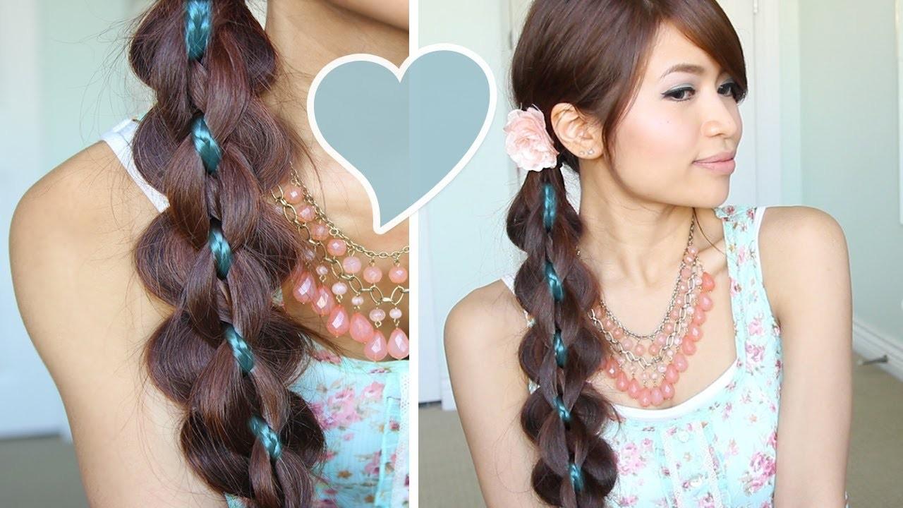 Intricate 5-Strand Braid Hair Tutorial Hairstyle - Bebexo