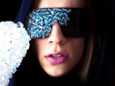 Lady Gaga The Fame Crystal Glasses – Sire Sasa tutorial 1