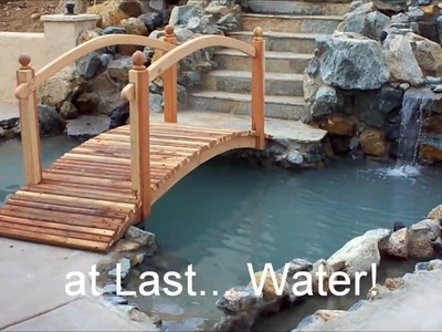 Liners vs Concrete-How To Build-Concrete Pond Construction- http:.designapond.com