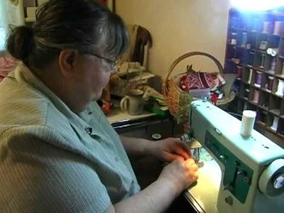 Mary Katherine May talks about how sewing scrap quilts and prayer go together with BOO BOO!