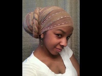 One of my fav ways to roc my head wrap