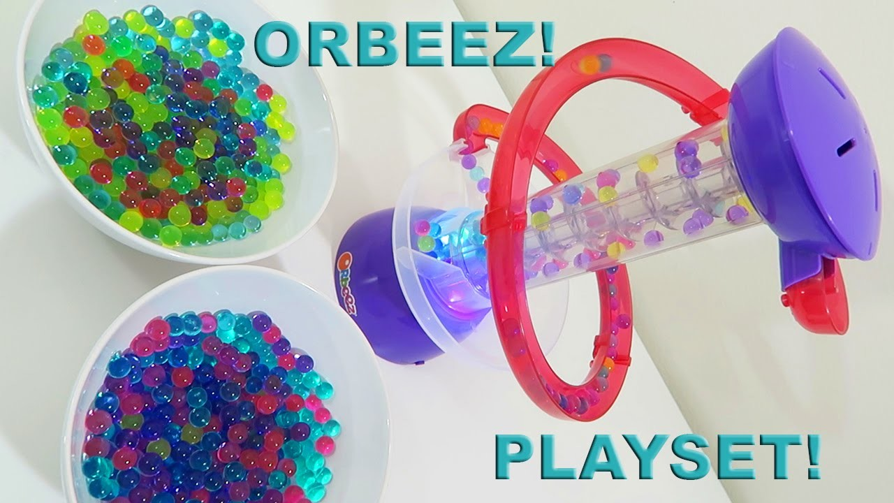 Orbeez Swirl N' Whirl Light Up Playset Unboxing and Toy Review!