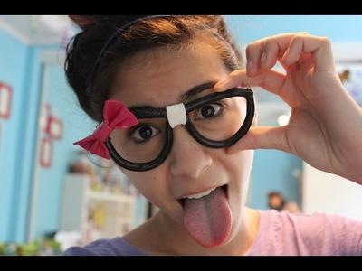 Polymer Clay Nerd Glasses Tutorial!