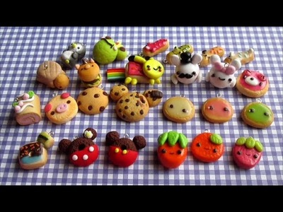 Polymer Clay Update #4 (Cookies, Eclairs, Donuts)