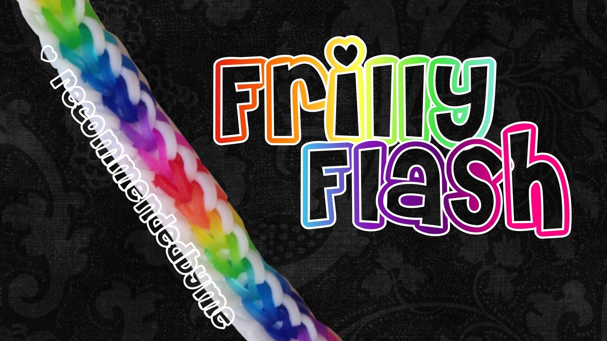 Rainbow Loom-Frilly Flash-how to.tutorial