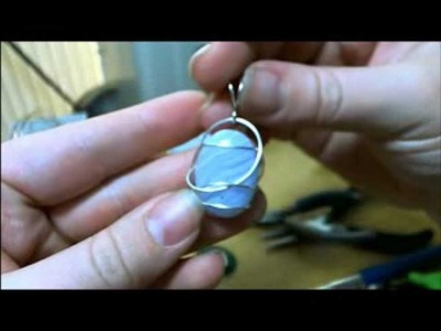 Simple Wrapped Cabochon Tutorial.wmv