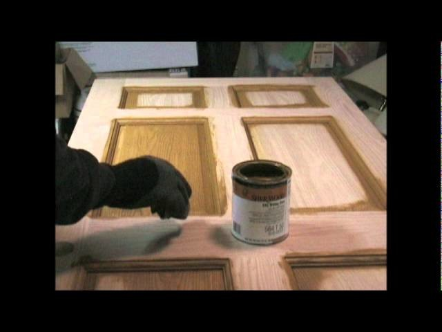 Stain and Polyurethane How To