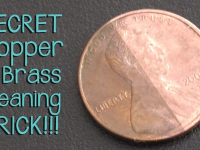 Super Secret Trick for Cleaning Brass and Copper - Jewelry Tutorial HQ