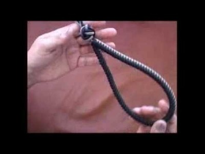 The Paracord Weaver: How To - 2 Piece Leash - Handle