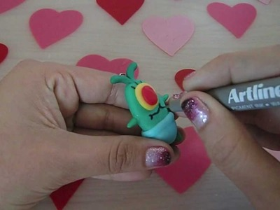 Baby Plankton Tutorial Cold porcelain. Polymer Clay