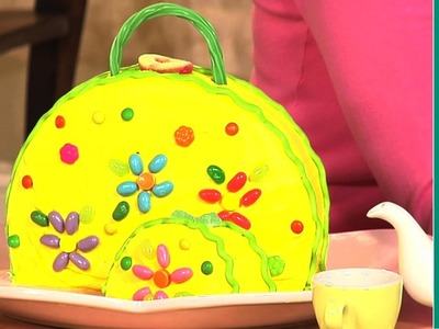 Birthday Cake Ideas: How to Make a Purse Cake