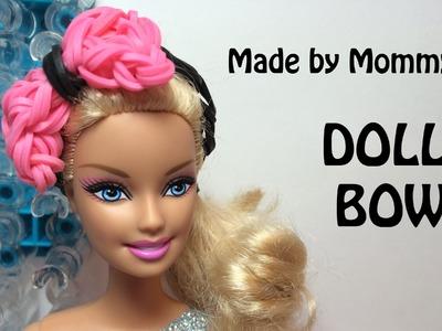 Bow Ring or Doll Hair Bow Charm on the Rainbow Loom