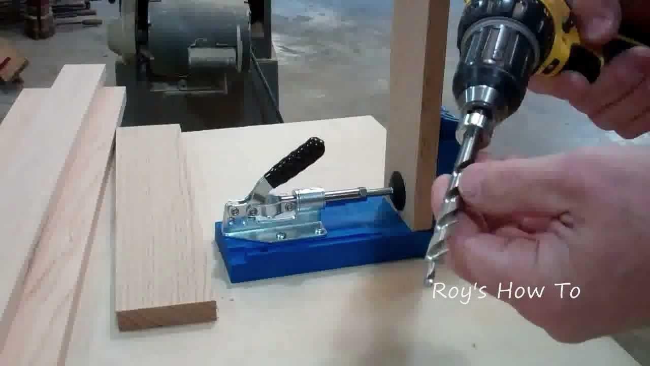 Building a Cabinet Face Frame Using a Kreg Jig