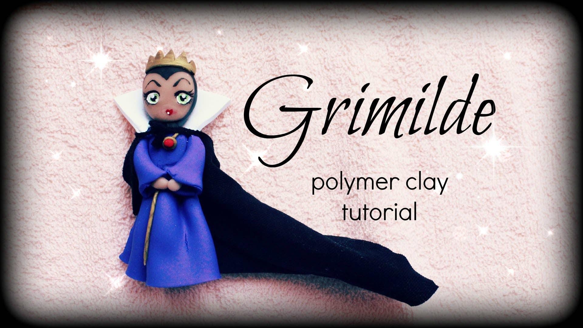 Disney Villains ● Grimilde ● Polymer Clay Doll