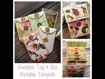 Envelope Tag Box Tutorial