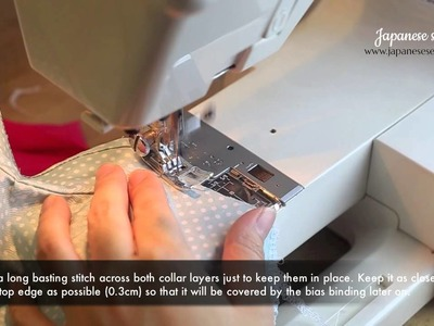 Girls Qi Pao.Chinese Dress Sewing Tutorial Part 1