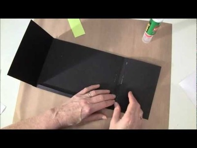 How to build a  photo mini album with G45 Olde Curiosity Shoppe paper collection Part1