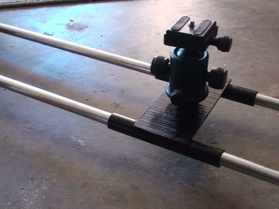 How To: DIY Camera Slider - Guide Rail Easy,Simple,Fast Construction