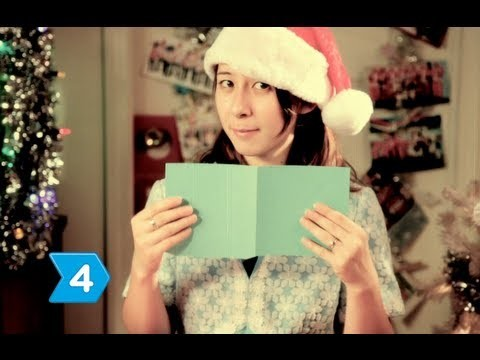 How to Make a 3-D Christmas Card