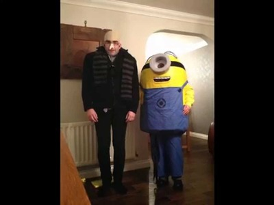 How to make a Despicable Me minion costume: Halloween