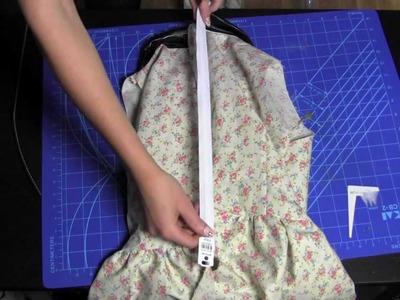 How to make a peplumshirt part 2