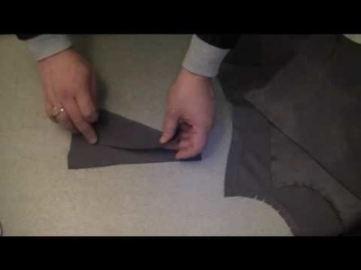 How-to-make-a-waistcoat - The back panels sample.flv