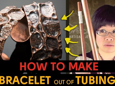 How to Make Bracelet out of Copper Pipe Tubing