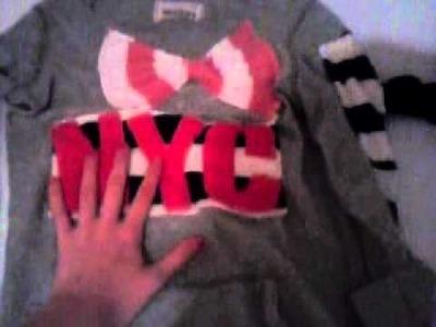 How to make fabric alphabet embelishments for decorating apparel