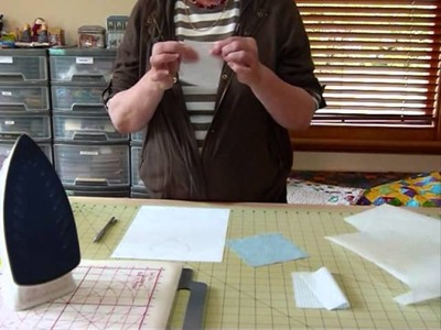How to use paper-backed fusible web for applique - Quilting Tips & Techniques 016