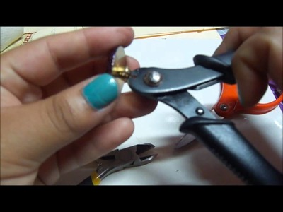 Jewelry Tutorial: Button Rings (: