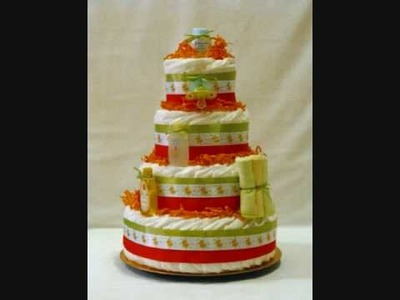 Kat's Diaper Cakes Collection