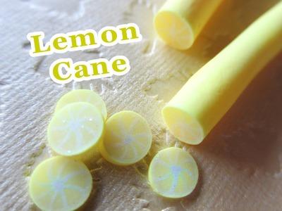Lemon Cane Tutorial. Polymer Clay