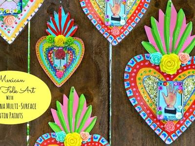 Mexican Tin Folk Art Craft