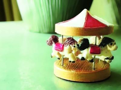 Mini Carousel Tutorial Polymer Clay
