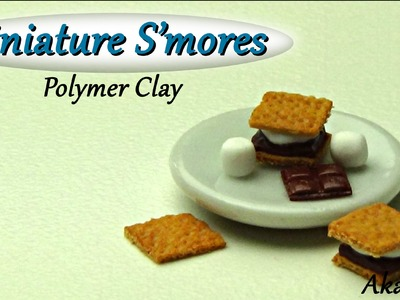 Miniature S'mores - Polymer Clay Tutorial