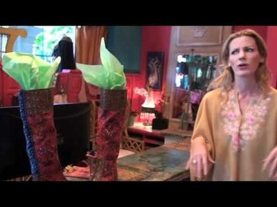 New Tracy Porter Decorating Video.  Layers Of Bohemia
