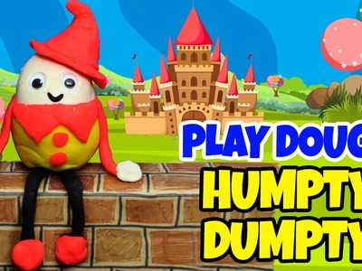 Play Doh Creations | Learn How To Make Humpty Dumpty with Play-Doh | Hooplakidz How To