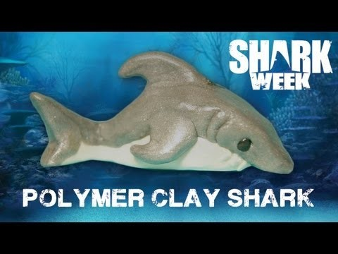 POLYMER CLAY SHARK [SHARK WEEK]