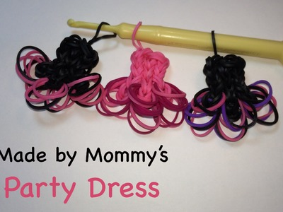 Rainbow Loom Ballerina Party Dress Charm