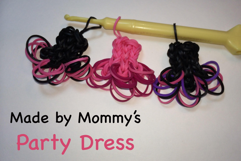 Rainbow Loom Ballerina Party Dress Charm