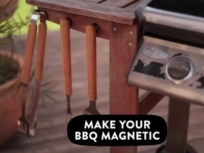 Add some magnetic magic to your BBQ Grill