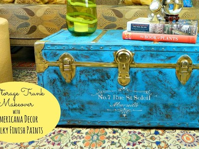 Antique Trunk Makeover by Mark Montano