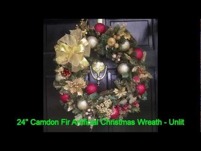 Artificial Christmas Wreath Ideas For Celebrate The Holiday Cheer