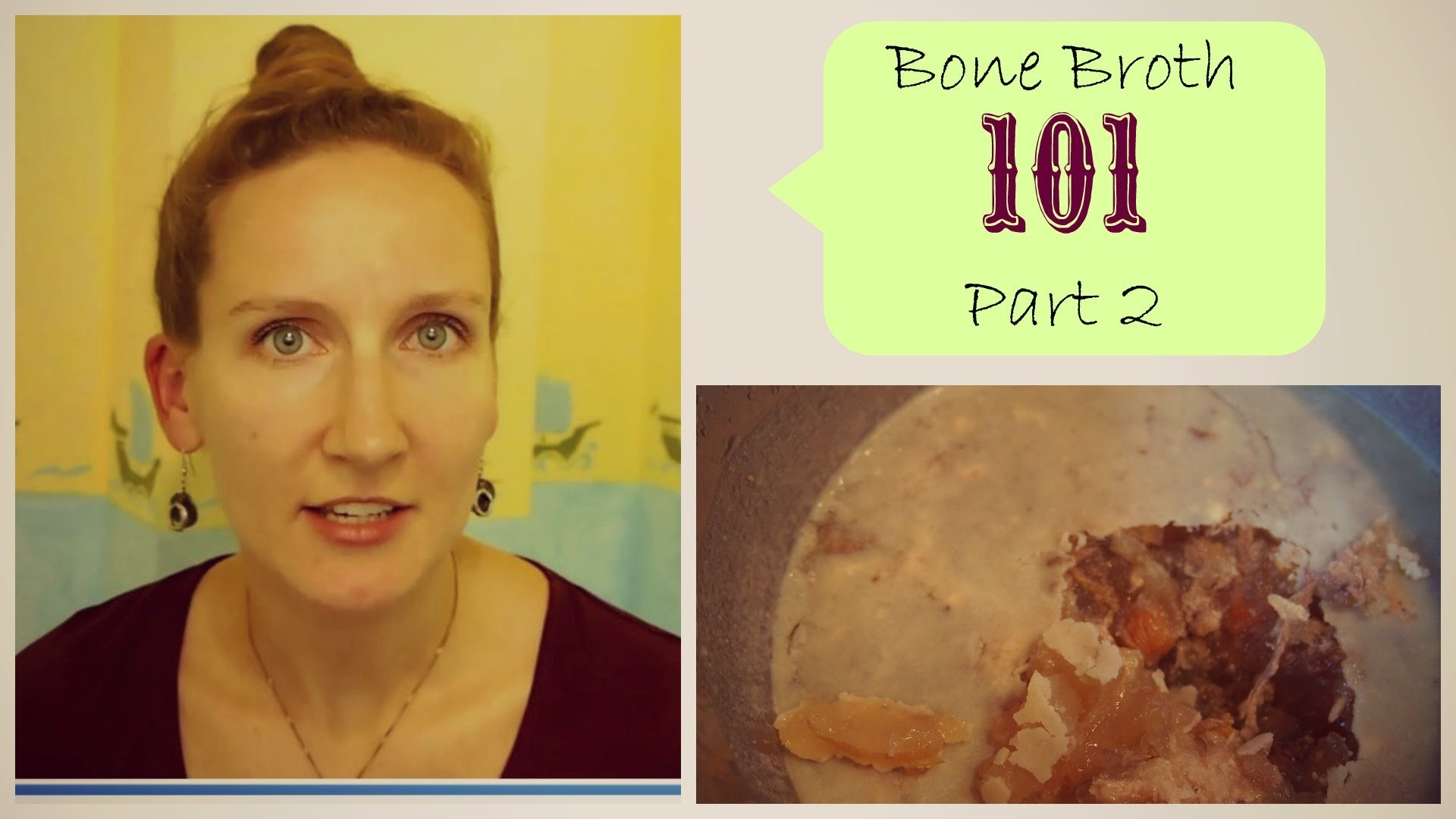 Bone Broth 101 - Part 2: How To Make It, Store It and Use It   VitaLivesFree